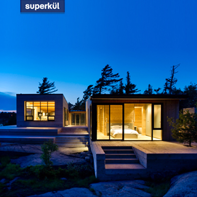 Superkul Inc Architect website interface feature image